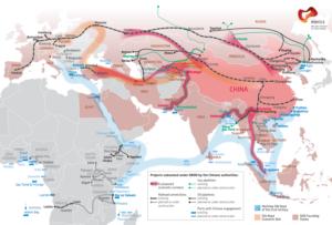 New Silk Road map