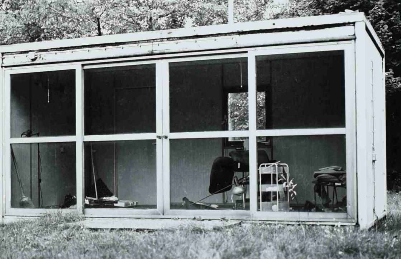 Spandau prison garden summer house