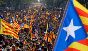 Catalans rally for independence