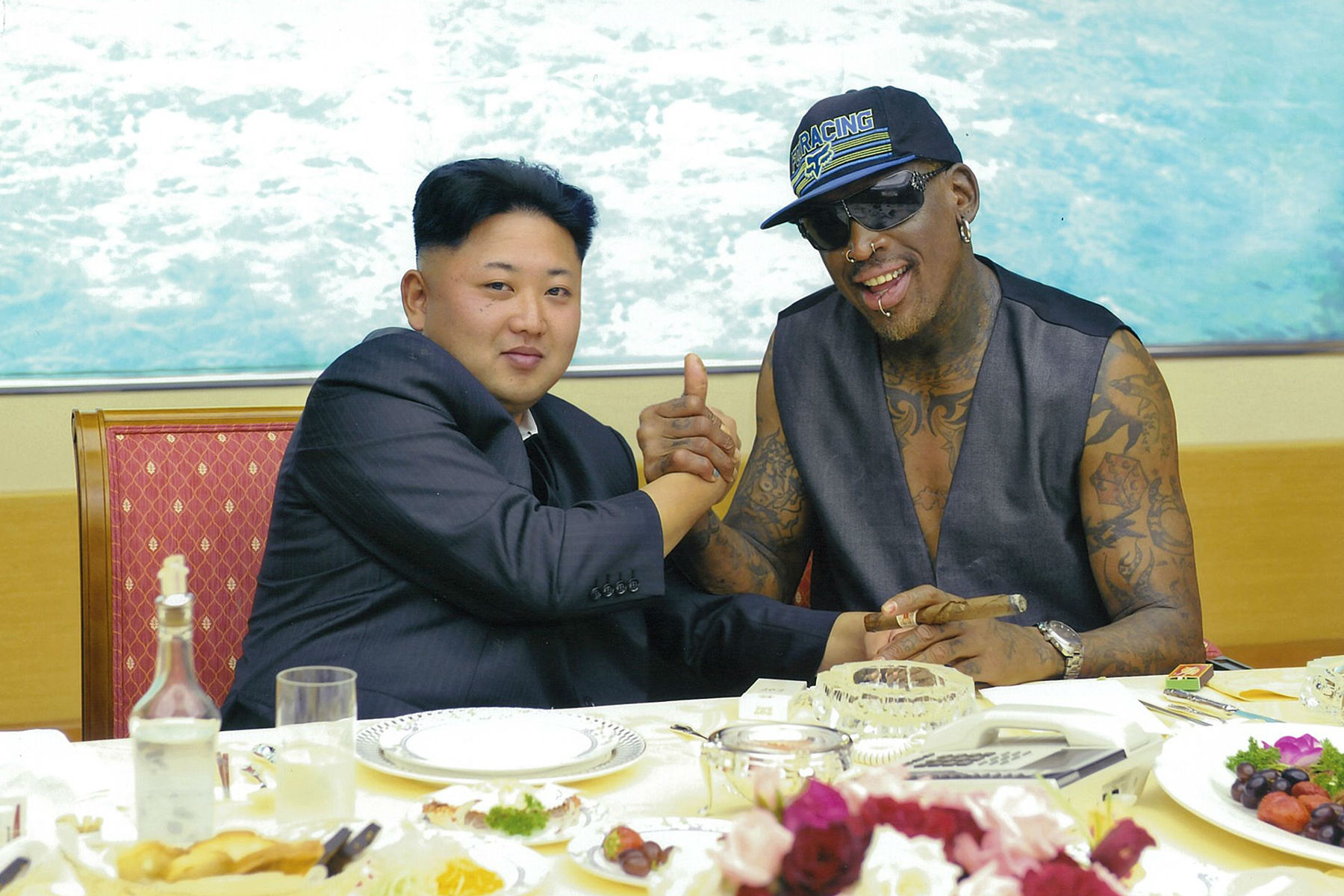 Dennis Rodman & Kim Jong-un