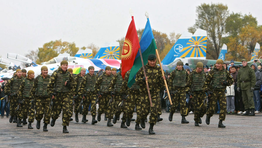 Russian base in Kant (Kyrgyzstan)