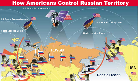 US ABM shield around Russia
