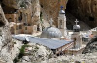 Orthodox monastery in Maalula, Syria