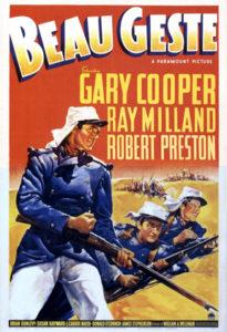 Beau Geste 1939 film poster