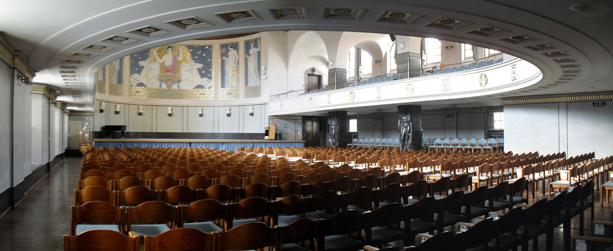 Great Assembly Hall (Große Aula) Ludwig Maximilian University of Munich