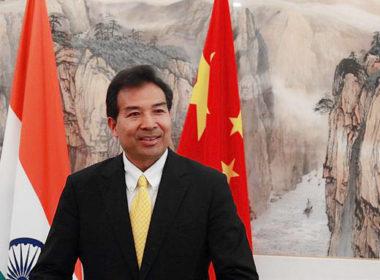 China Ambassador Luo Zhaohui India