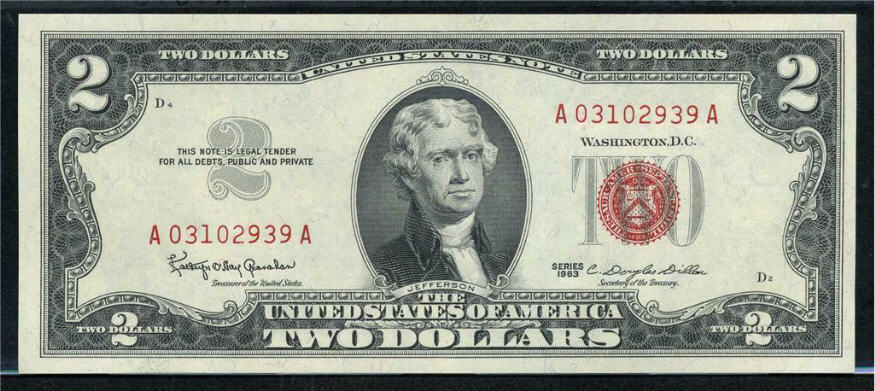 United States Note 1963