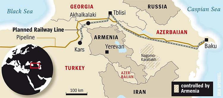 Baku-Tbilisi-Kars (BTK) Railway