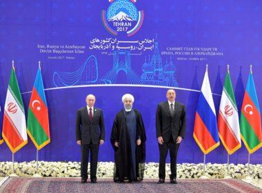 Iran Russia Azerbaijan summit 2017