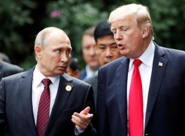 Trump Putin Danang