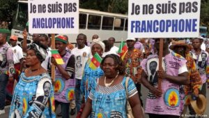 Anti-independence demonstrations against Anglophone regions in Cameroon
