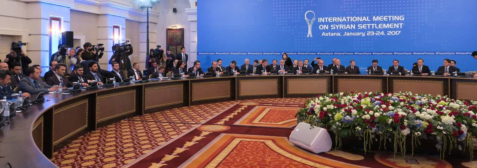 Syrian peace talks in Astana