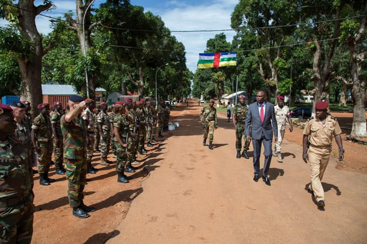 EU military training mission in Central African Republic