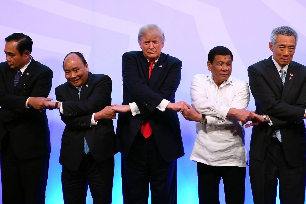 Trump at ASEAN summit