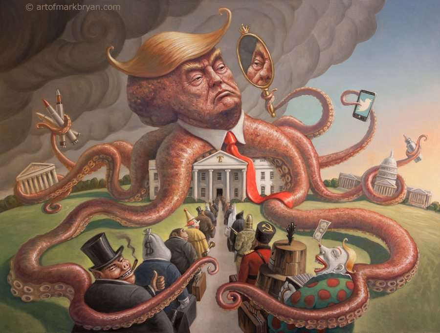 Image result for agent of chaos trump