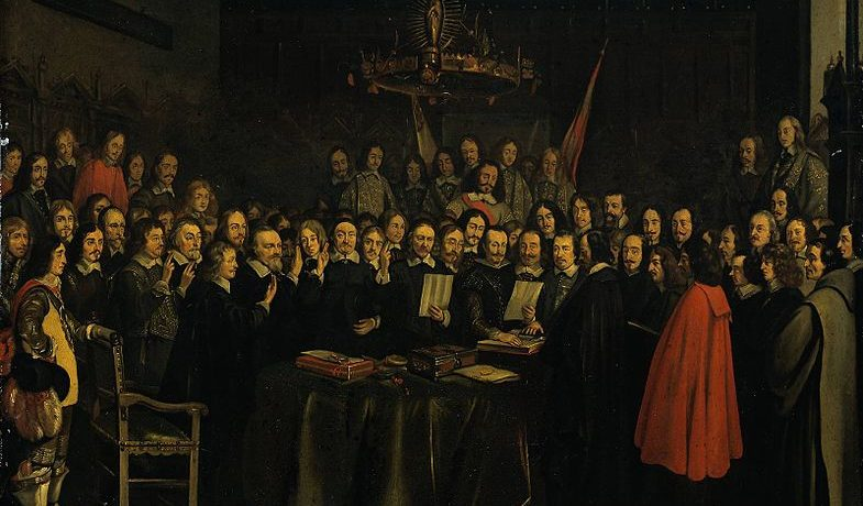 Ratification of the Peace of Münster (Gerard ter Borch, Münster, 1648)