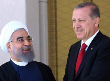 Recep Tayyip Erdogan and Hassan Rouhani