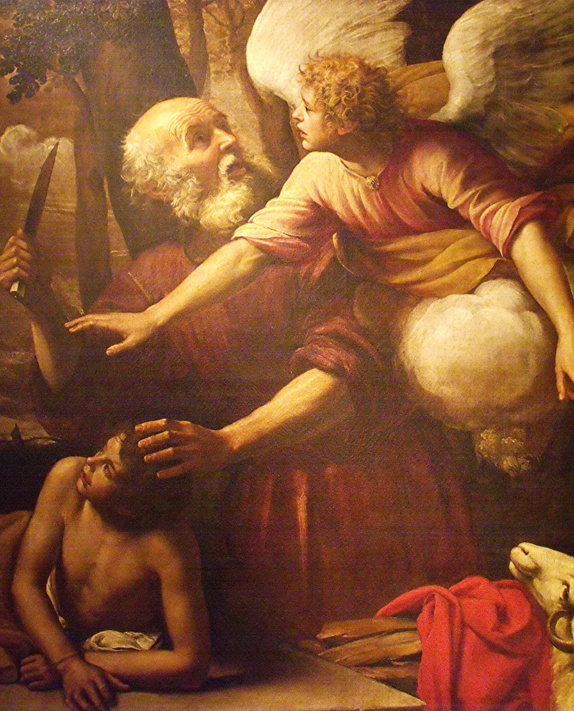 Giuseppe Vermiglio The Sacrifice Of Isaac (1621)