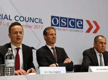 Péter Szijjártó OSCE