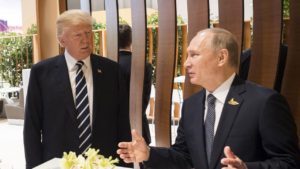 Putin thanked Trump for thwarting terrorist attack in St.Petersburg