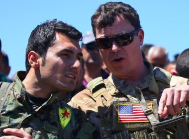 Kurds PYD-YPG US training Turkey Afrin