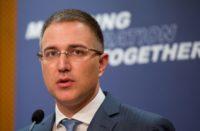 Nebojsa Stefanovoc Serbian Interior minister