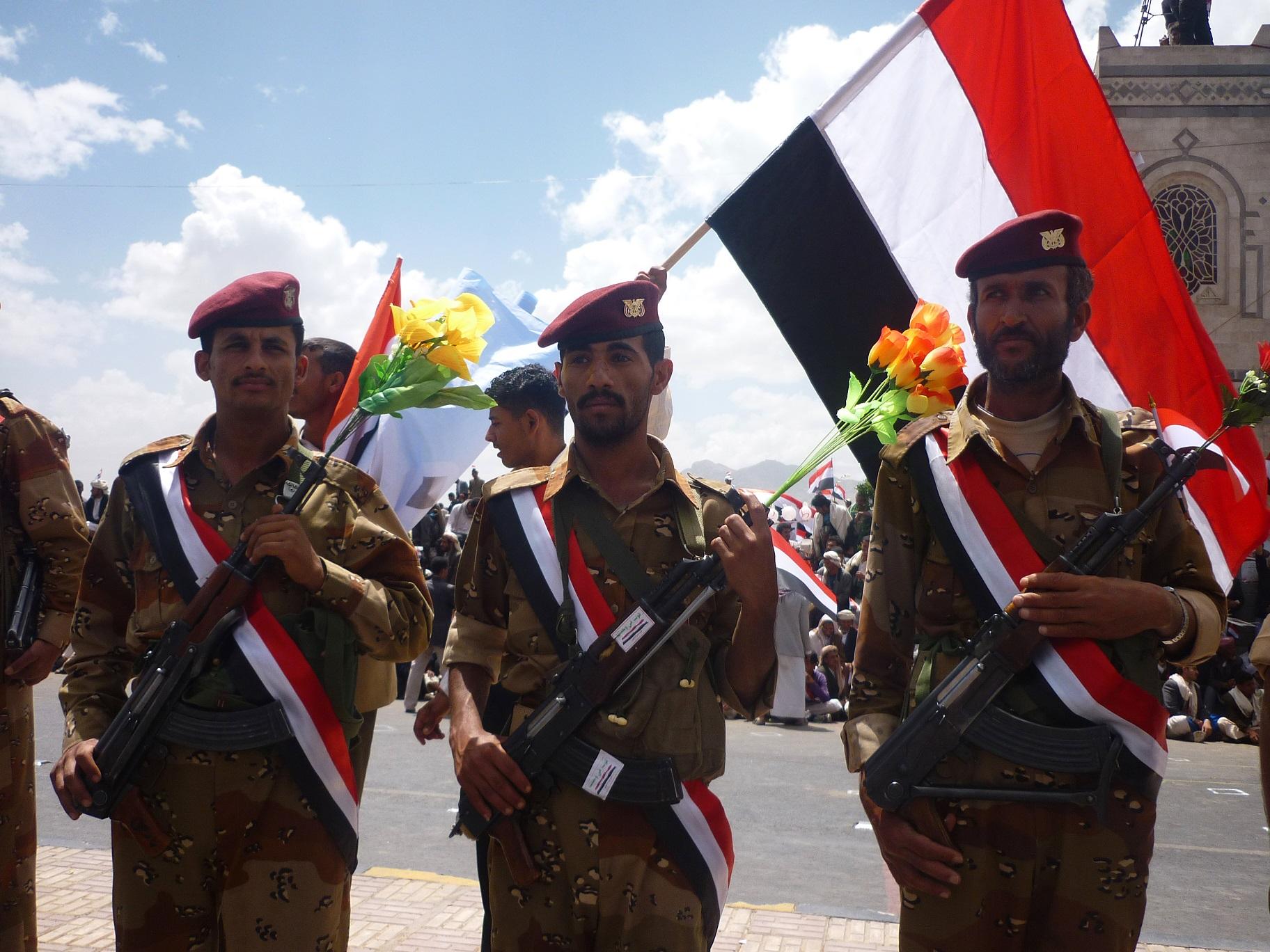 Yemeni soldiers
