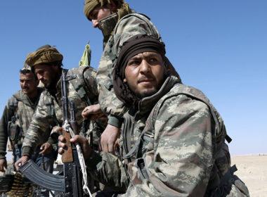 Kurdish Syrian Democratic Forces SDF Terror force or Border army
