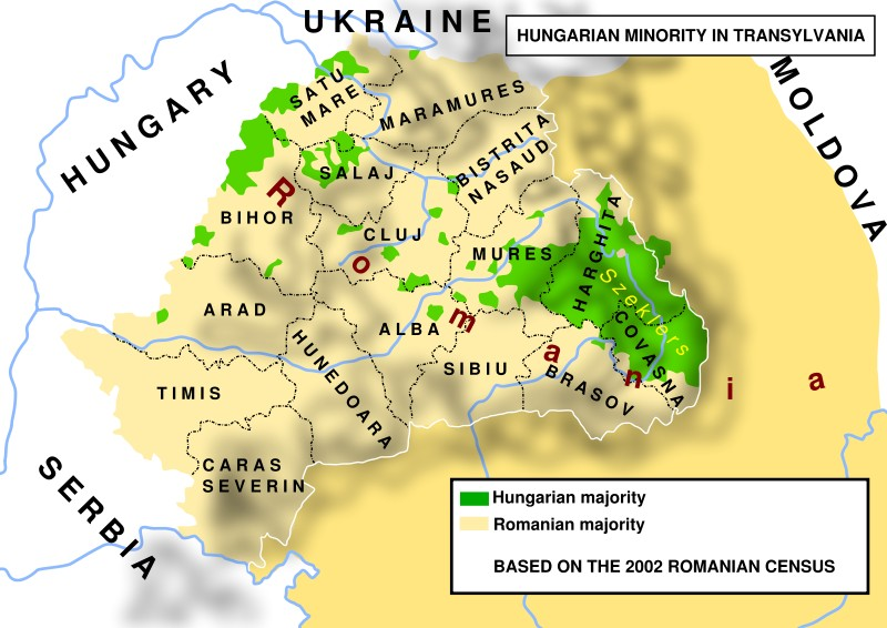 Hungarian minority in Transylvania