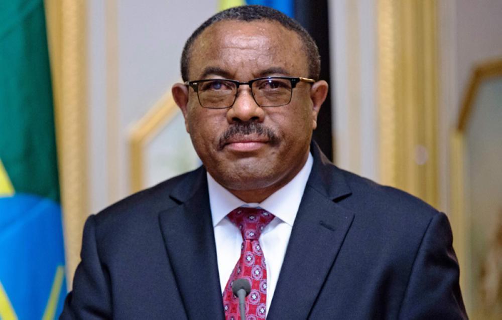 Resigned Ethiopia premier Hailemariam Desalegn.