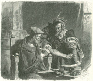 """The Devil Pact"", Theodor Knesing"