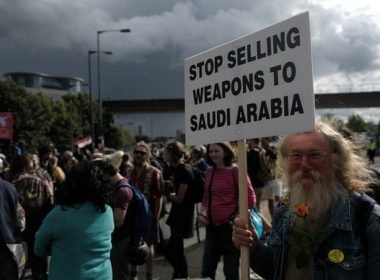 Stop selling weapons to Saudi Arabia