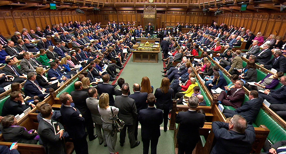 House of Commons talking on Skripal case