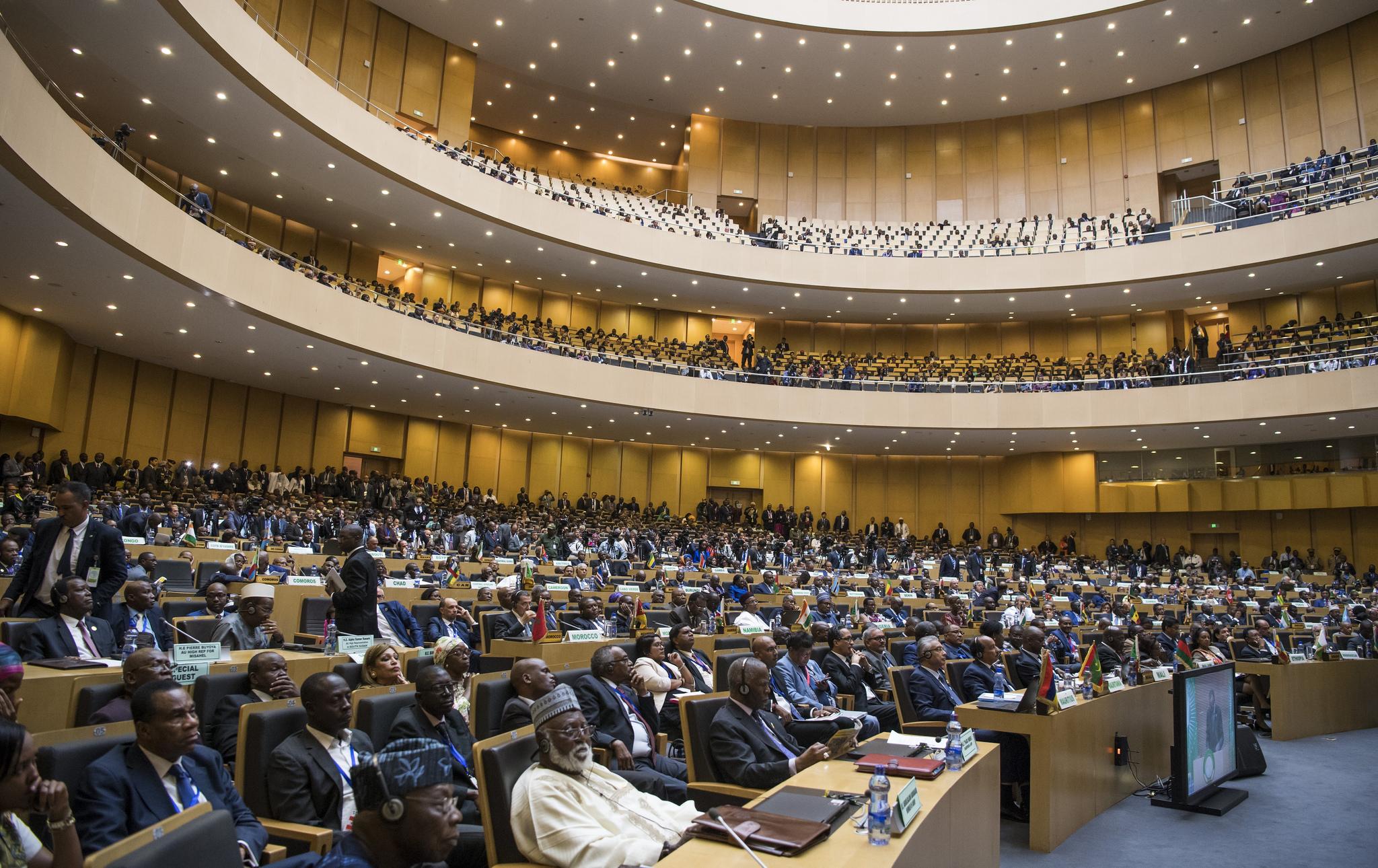The 30th African Union GA in Adis Ababa, January 2018