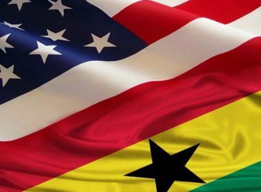 US-Ghana flag