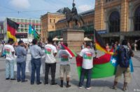 Baloch demonstration in Düsseldorf