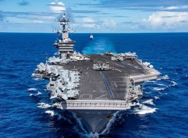 US aircraft carrier Carl Vinson Vietnam