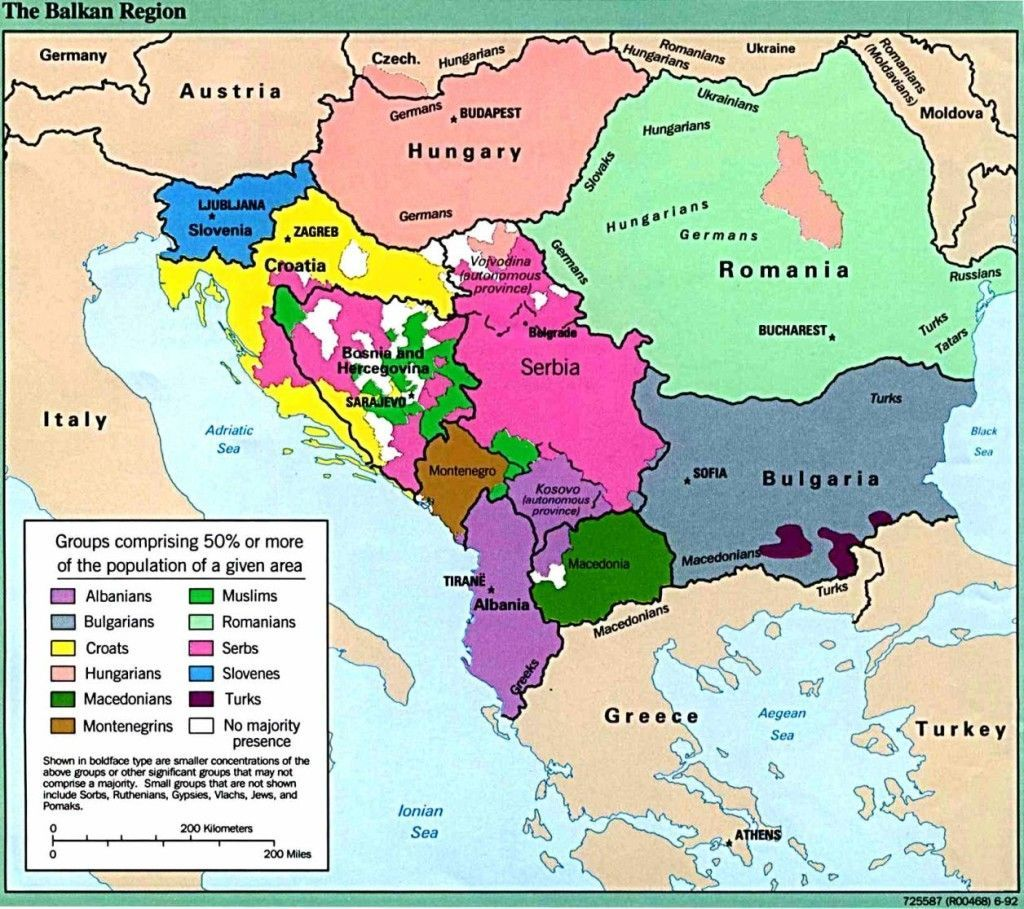 Ethnic groups in the Balkans