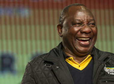 Cyril Ramaphosa is the new president of the ANC
