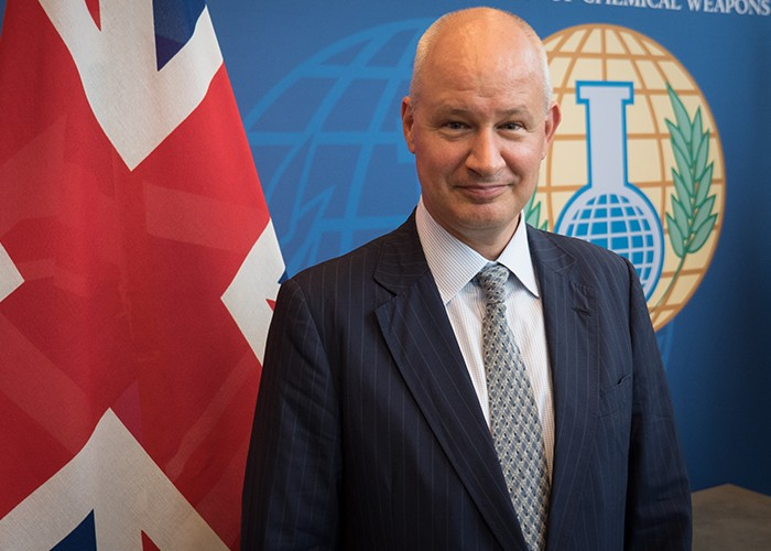 Amb. Peter Wilson (United Kingdom)
