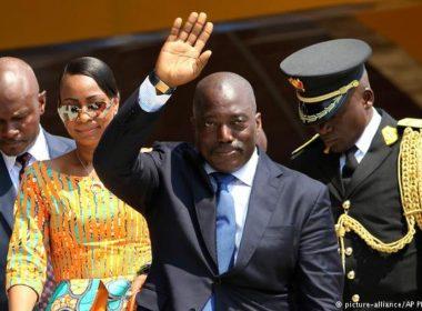 Congo president Joseph Kabila.