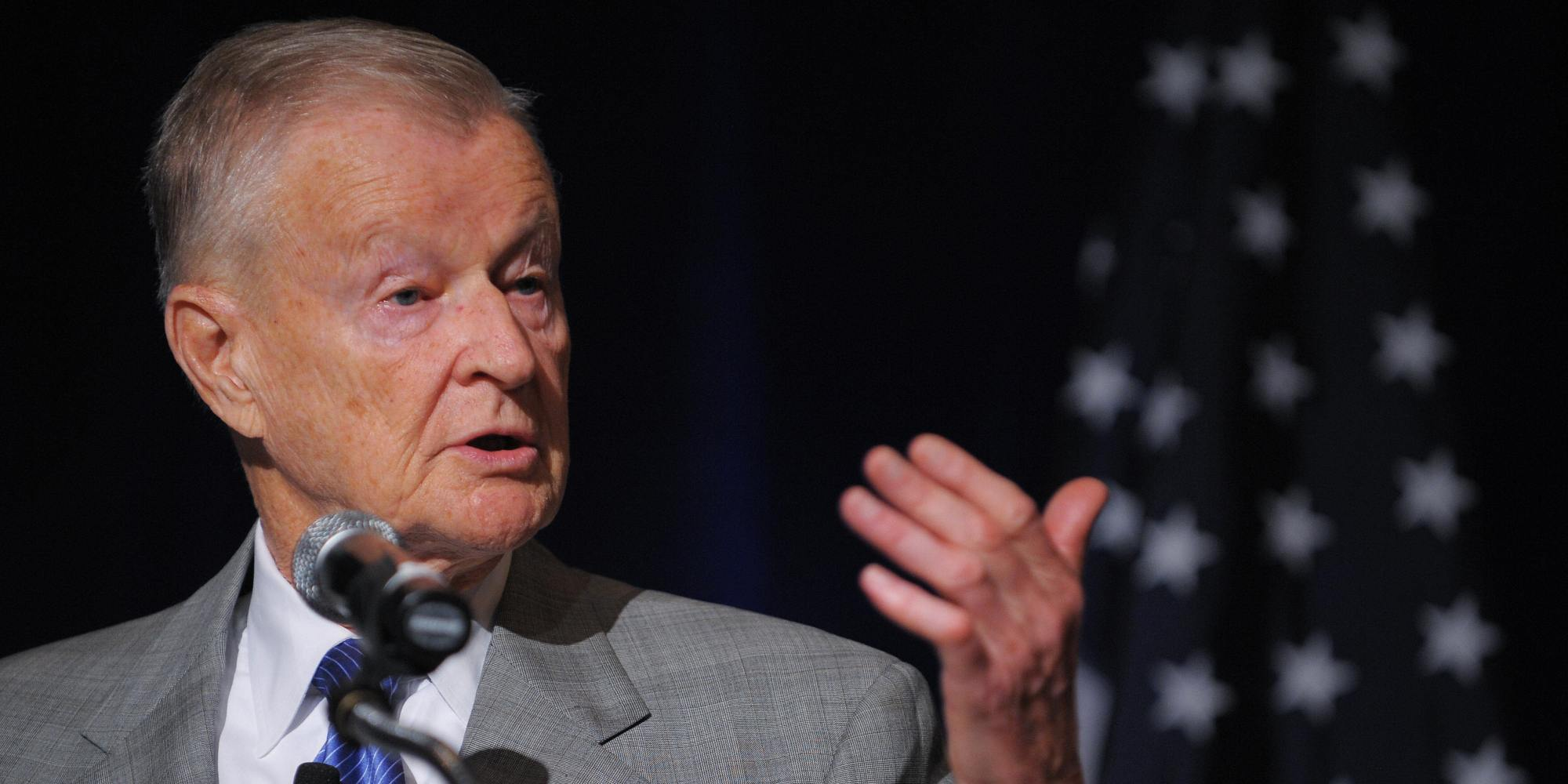 Former US national security advisor Zbigniew Brzezinski
