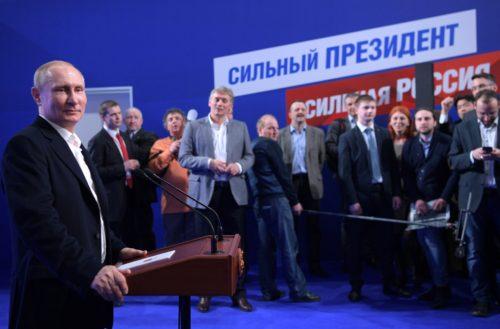 Vladimir Putin press conference march 2018