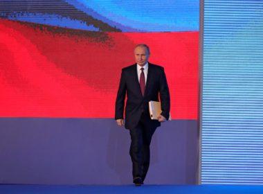 President Vladimir Putin 2018 presidential address