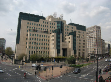The SIS (MI6) Building at Vauxhall Cross, London