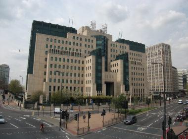 The SIS (MI6) Building at Vauxhall Cross, London