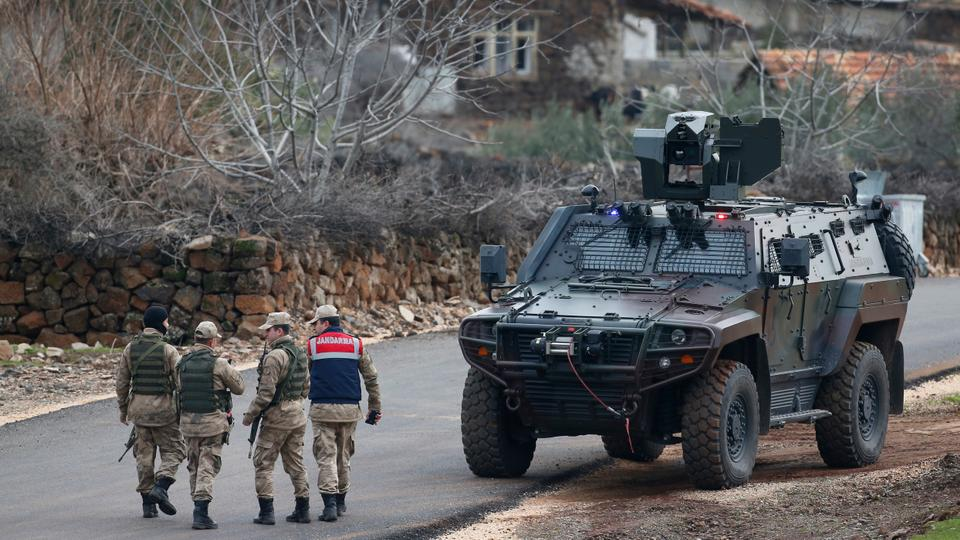 Turkey Afrin operation Olive Branch