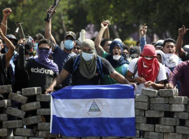 Peaceful democratic protest in Nicaragua