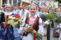 Festival of national cultures in Grodno (Belarus)