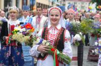 Festival of national cultures in Grodno (Belarus)